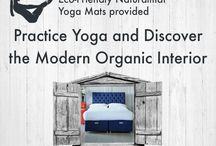 Yoga / Practice yoga in our beautiful showroom and discover the modern organic interior.