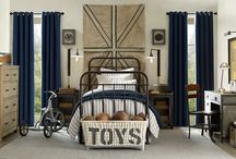 """Home - The Boys' Bedroom / """"KEEP OUT - No girls allowed!"""" / by Ginger Brown"""
