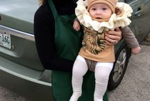 Harper and mommy costumes