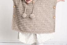 knitting baby coat poncho
