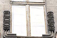 Art nouveau architecture Istanbul