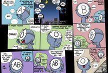 komik golongan darah