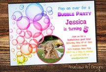 Bubble Birthday Party