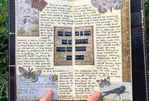 traveler notebook/ journaling/ typography