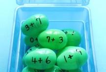 Easter Egg Activities / Using Easter eggs for education