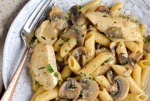 sw mushroom chicken pasta