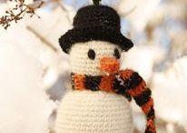 horgolt hóembi