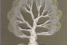 bobbin lace tree
