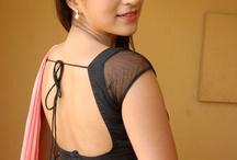 saree tops