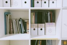 Studying/working space + organization