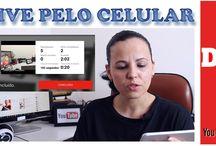 Live pelo Celular Youtube - Android & iOS