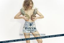 "Don´t dare to lose the greatest ONLINE&OFFLINE shop ever! / PINYABCN is about Mediterranean lifestyle, beach and Barcelona. We are fresh as a pineapple juice, inspiring as the blue sea, fun and elegant as our prints and designs. We are eager to tell you the story of each of our items and let it continue on your own body. Follow us into this daring journey and we promise we will always be sexy and passionate. Are you going to fall in love with us? Say ""yes"" and join us at http://www.pinyabcn.com/landing/"