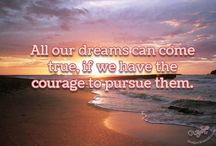 Dream Quotes / Beautiful quotes about dreams from all over the world.