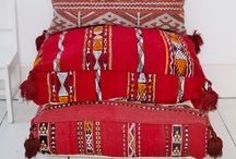Ethnic Red Tones