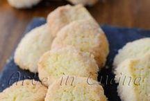 biscotti con farina di riso e limone