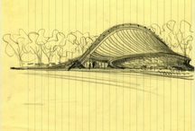 Architecture Renderings / Drawings, renderings and sketches by architects and about architecture.