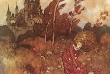 Illustrations - Edmund Dulac