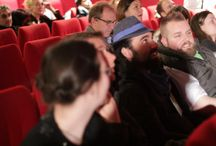 ÉCU 2013 Award Ceremony / On Sunday, March 31st, the ÉCU 2013 Award Ceremony took place at Cinema Les 7 Parnassiens The best of the best in the indie film community from 17 categories were chosen and honored. The list of all ÉCU 2013 Award Winners can be found here: http://www.ecufilmfestival.com/?page_id=18963&lang=en ///