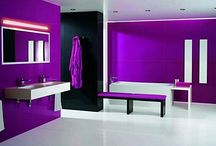 Pretty Purple / We are inspired by all Purple Design Ideas & Decor!  Visit our facebook page: https://www.facebook.com/nufloorslangley