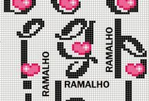 cross stitch/hama / sross stitch or hama pearl