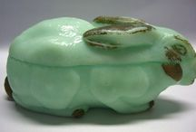 Pressglas Grün