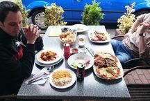 Mittags in Hannover / Bilder von leckeren Gerichten und Speisen aus hannoverschen Lokalitäten.