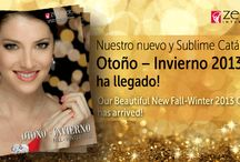 Catalogo Otoño - Invierno 2013 / by Zermat International