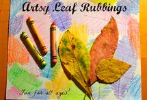 Autumn/Fall Inspiration / activities, nature, art, science... all sorts of preschool insoiration linked to Autumn/Fall