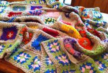 Rocky's crochet blankets