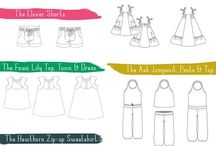 Indie Pattern Decadence / Independent patterns to make beautiful ready to wear clothing