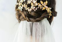Bride hair pieces ideas