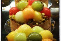 Pâtisserie / Summer fruit tart