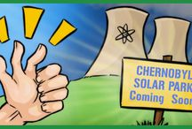 Solar Cartoons from the Blog / Illustrations for the SolarQuotes Blog by Tsunami Hee Ja.