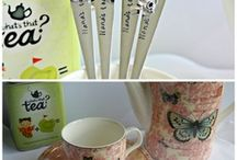 Hand Stamped Cutlery by Queen Tea / Hand Stamped Cutlery