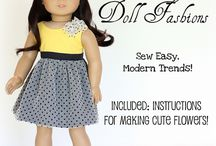 Doll clothes sewing patterens
