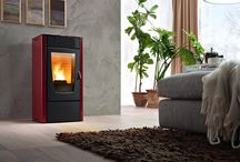 Mcz Room Heating Wood pellet Stoves / #MCZ air #stoves (aka Room Heating #Wood #Pellet #Stoves) use wood pellets and thus offer all the advantages of an easily stored fuel, that is not messy and above all makes it possible to automatically program switching on and off the stove. -