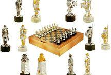 Настольные игры / Домино, Игровые наборы, Нарды, Шахматы