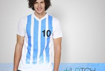 Soccer On Mind? / Not made to create a fashion statement but a state of mind which wants to express pride and dedication.