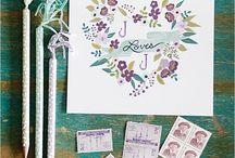 Wedding Inspiration {Free Printables} / Free printables for you wedding