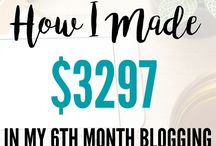 Blogging Income / Blog income and traffic reports | First month blog income | blog income social media | Pinterest traffic | blog income posts | blog income tips | How to make money blogging | Traffic tips and tricks for a new blog | Online income | Passive income | Ad income | Affiliate marketing income