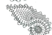 Needlework - Crochet Motifs - Paisley