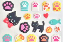 Puffy stickers / What is it about puffy stickers? They're the stuffed animal of the sticker world and totally irresistible!