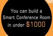 Posters / DID YOU KNOW YOU CAN BUILD A SMART CONFERENCE ROOM IN $1000 ? - PRIJECTOR