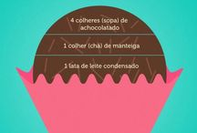 I s2 food / Gordices, receitas e + gordices // It's all about the food / by Magali Pereira