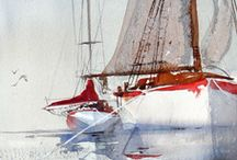Art - painting - Anders Andersson (navy theme)