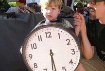 clock costume