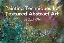 abstract art techniques and lessons