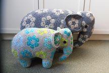 Djur i hippo-style