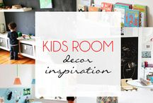 Kids Room Decor Inspiration / A collection of inspiring decor ideas for your Kids Room.