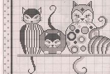 Motif de chat